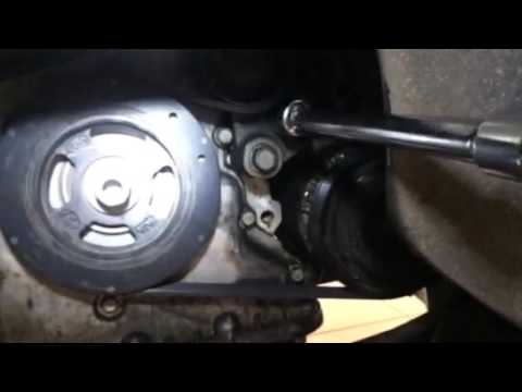 Replacing alternator of hyundai veracruz