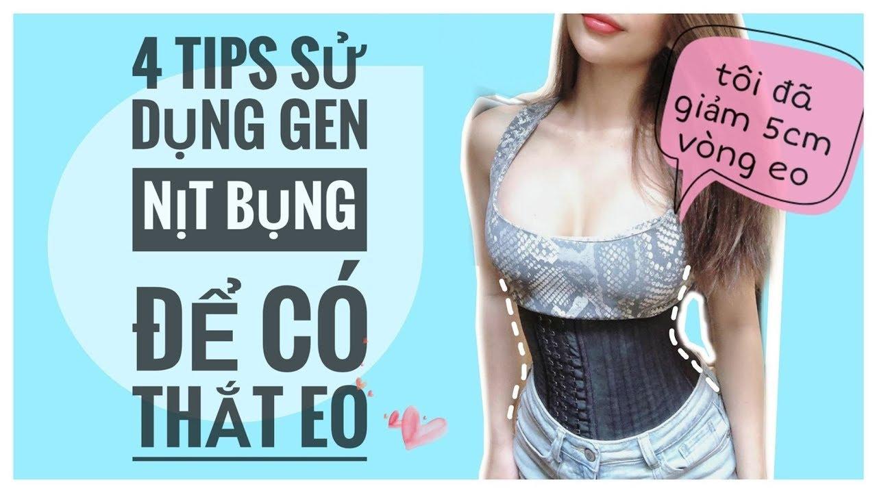4 Tips Sử Dụng Gen Nịt Bụng Để Có THẮT EO | Trang Le Fitness