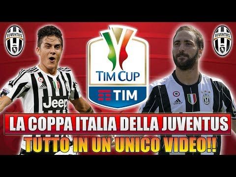 TUTTA LA COPPA ITALIA DELLA JUVENTUS IN UN UNICO VIDEO!! [By
