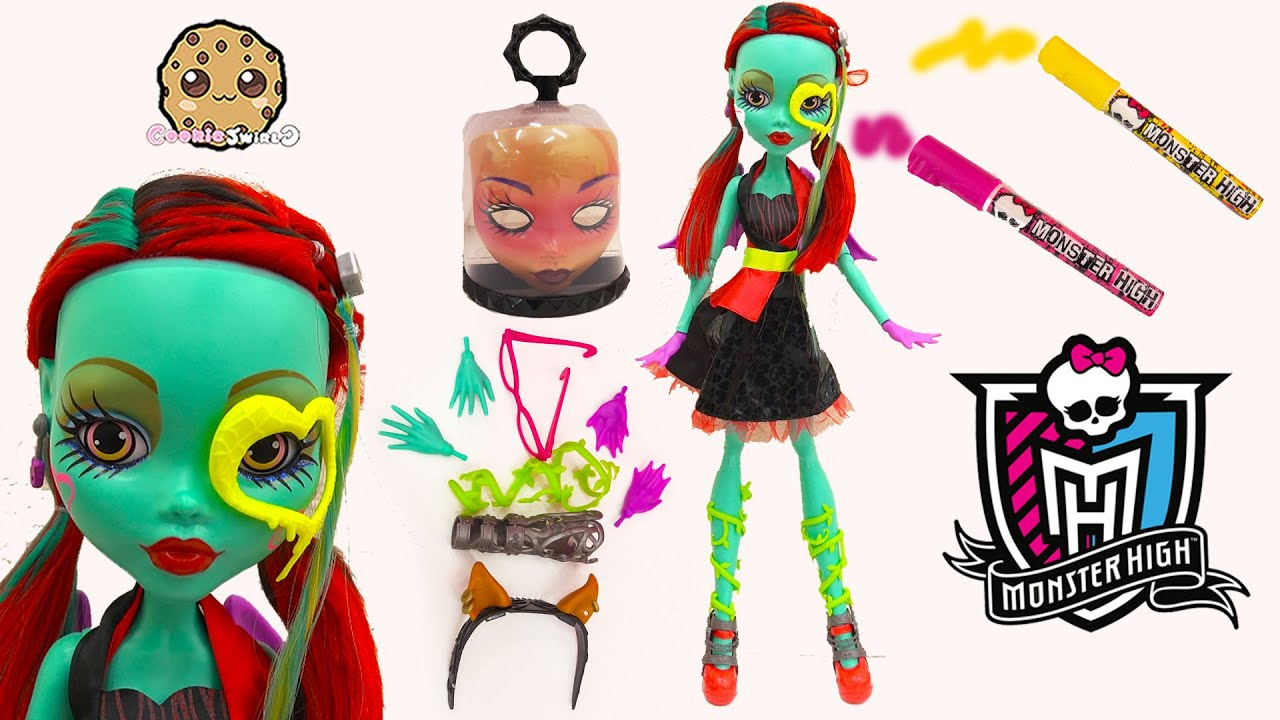 Create A Monster High 28 Gore Geous Ghoul Friend Doll