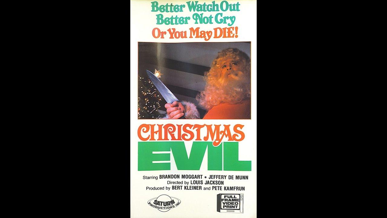 Christmas Evil 1980 Horror Movie Trailer - YouTube