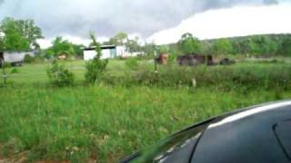tornado that touched down in old texas alabama 4 15 11