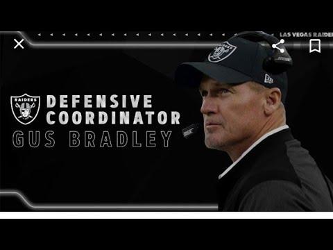 Las Vegas Raiders Would Gus Bradley Make A Good Head Coach ? By Eric Pangilinan