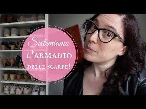 Motivational monday | SISTEMIAMO L'ARMADIO DELLE SCARPE!