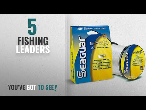 Top 10 Fishing Leaders [2018]: Seaguar Invizx Fluorocarbon - 8lb. - 200yd.