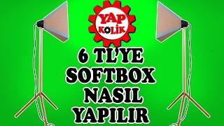 Softbox Yapımı - Tripodlu Softbox Nasıl Yapılır ?
