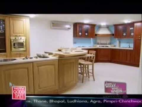 Cucine Lube studio launch coverage by NDTV Good Times - YouTube