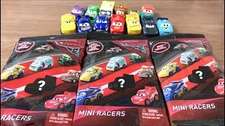 Disney Pixar Cars 3 : Opening Mini Racers Die-cast Car Blind Bags : added 3 units
