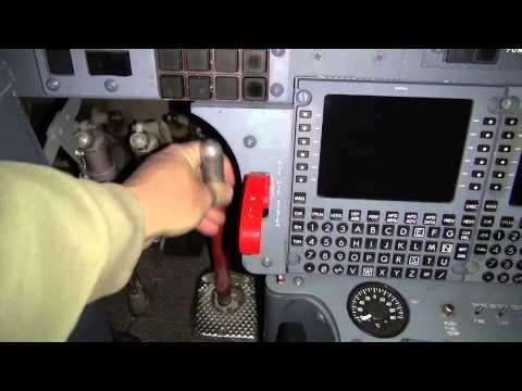 Hawker 125-Series Gust Lock Application