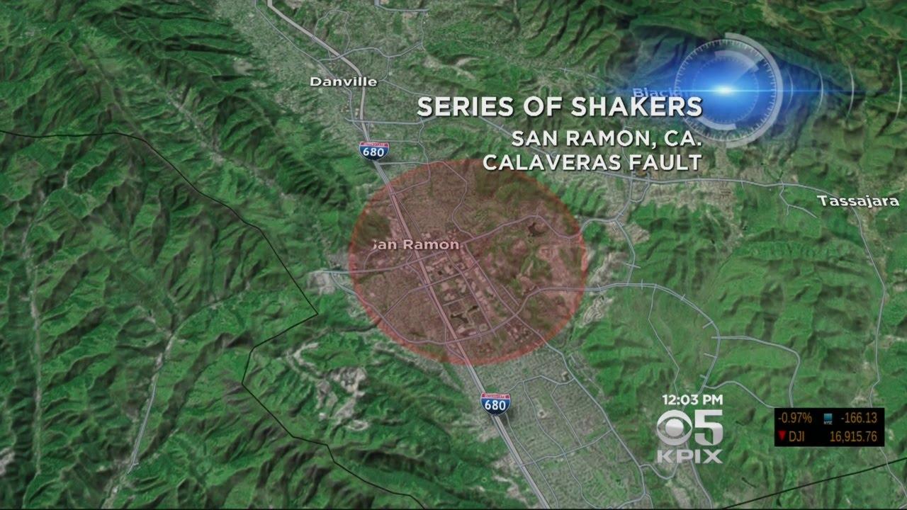 San Ramon Earthquake Map.Over 20 Earthquakes Strike San Ramon In 24 Hours Youtube