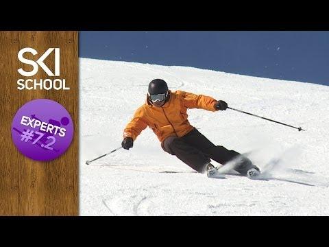 Expert Ski Lessons #7.2 - Body Position Long Turns