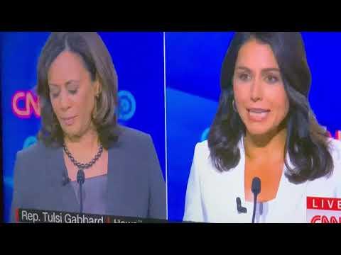 Joe Biden And Kamala Harris Go At It, Then Tulsi Gabbard Roasts Harris Over Death Penalty