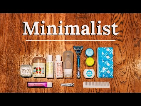 PACKING TOILETRIES Minimalist Essentials | BAGS & Pro DIY Tips ✈🌎
