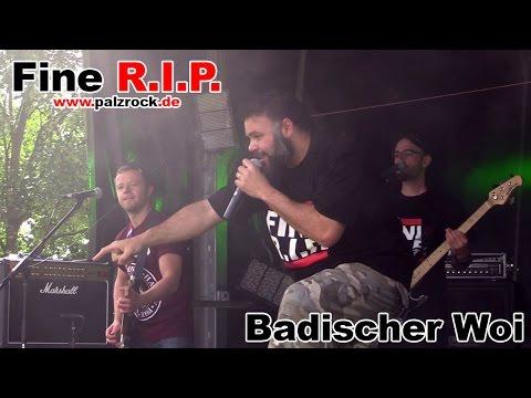 Fine R.I.P. - Badischer Woi (Fußgönheim 2015)   Schwobbes Media