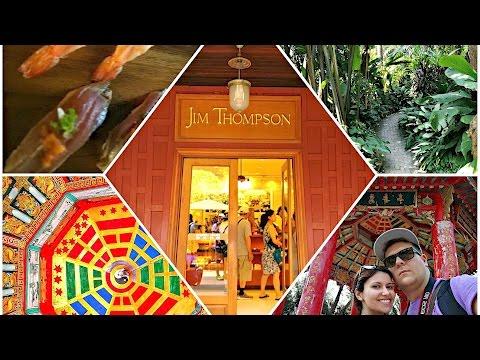 THAILANDIA 2017! BANGKOK...LUMPINI PARK, JIM THOMPSON HOUSE E...SUSHIIII!!!!