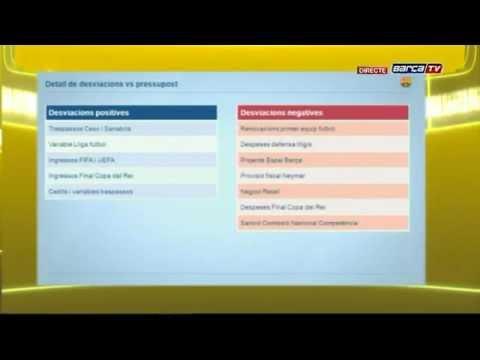 Javier Faus passa balanç econòmic de la temporada 2013/14