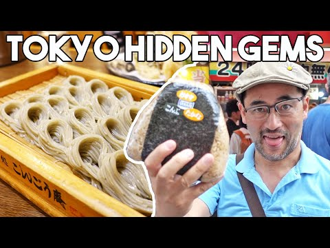 HIDDEN GEMS In TOKYO JAPAN | Breakfast Lunch And Dinner