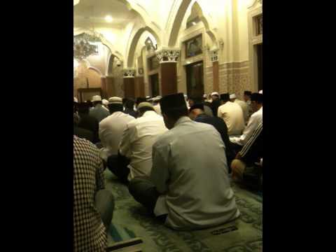 The Zikir during Tahlil for Abah Anom