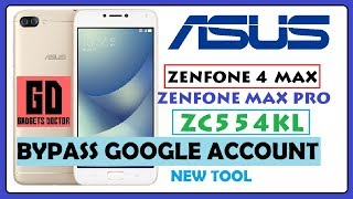 Asus Zenfone 4 Max Pro (X00ID) (ZC554KL) Bypass FRP Google Account  Android-7 (Nougat) Very Easy