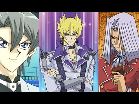 Jack Atlas vs Aster Phoenix vs Pegasus - Epic Yugioh Double