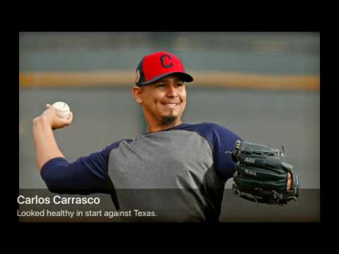 Danny Salazar, Carlos Carrasco take first steps of spring for Cleveland Indians