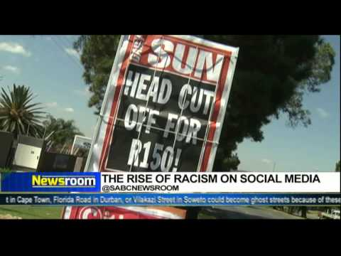 Newsroom:  The rise of racism on social media