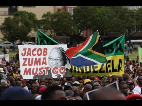 Zuma Must Fall March in Pretoria