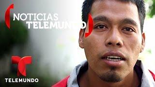Repeat youtube video Omar García: Sobreviviente de masacre de estudiantes en Ayotzinapa | Noticias | Noticias Telemundo