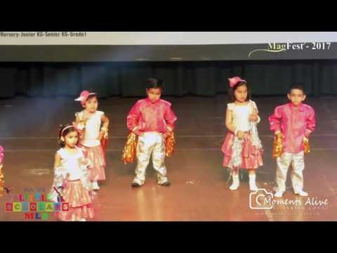 Annual celebration Kids Dance Magfest 2017 by Magpie Institute Kota
