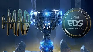 MAD vs EDG | Worlds Group Stage Day 7 | MAD Team vs Edward Gaming (2018)