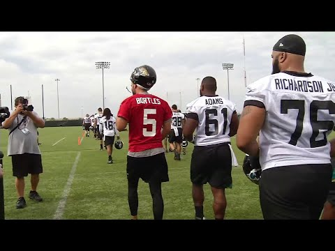 First day of Jaguars training camp shows promise
