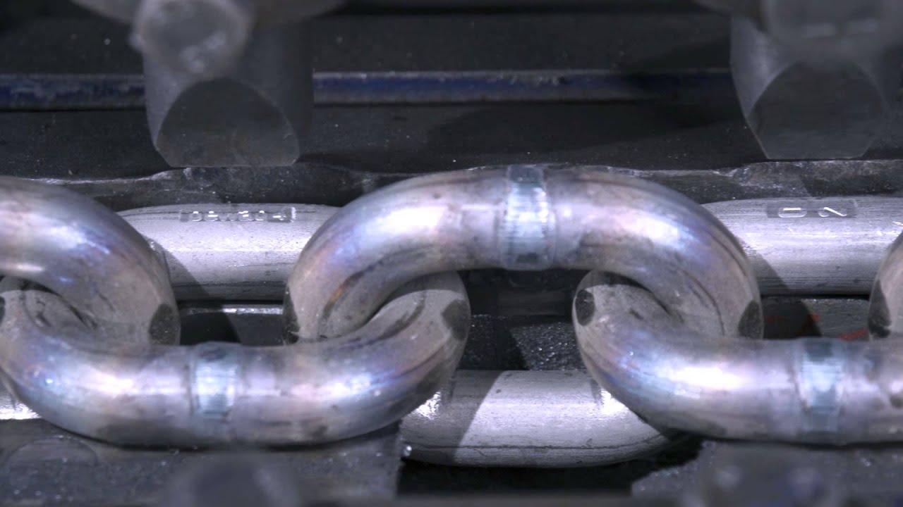 Kettenproduktion bei pewag - YouTube