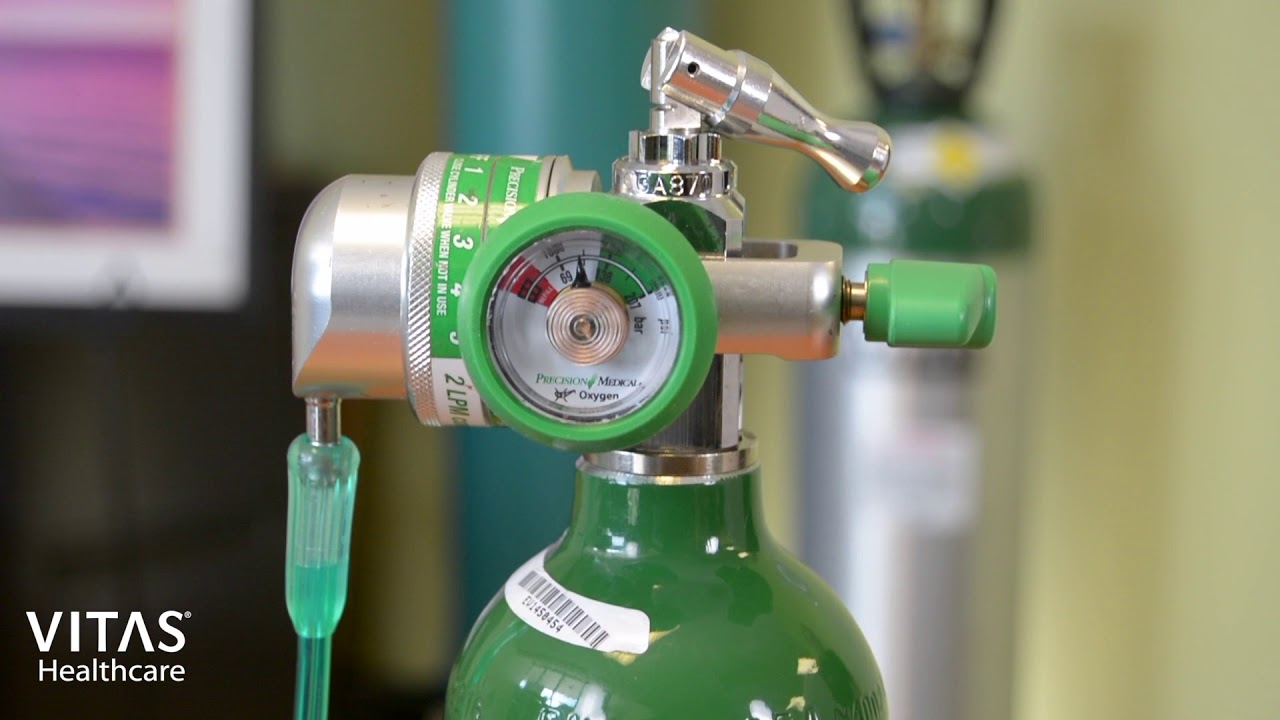 How To Use An Oxygen Tank Valve Youtube
