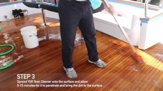 YSR Teak Cleaner- How to....