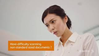 Fuji Xerox DCVIIC7773 2 Scan   Non standard size documents