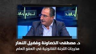 د. مصطفى الخصاونة وفضيل النهار - مخرجات اللجنة القانونية في العفو العام