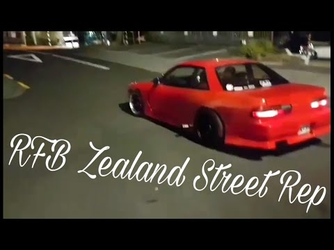 RB20DET Nissan Silvia S13 Illegal Street burnout New Zealand!