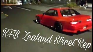 RB20DET Nissan Silvia S13 Illegal Street burnout New Zealand!