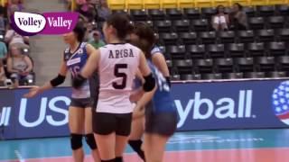 Arisa Sato 佐藤あり紗 vs Turkey 2016