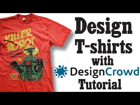 How to Design T-shirts With DesignCrowd