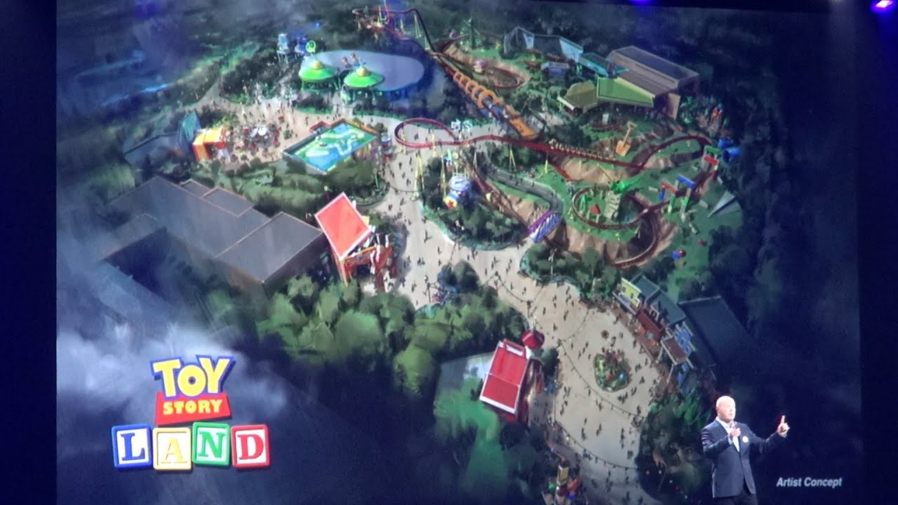 Toy Story Land Announcement And Details For Disney S Hollywood