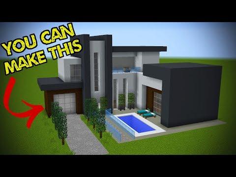 5 Easy Steps To Make A Minecraft Modern House