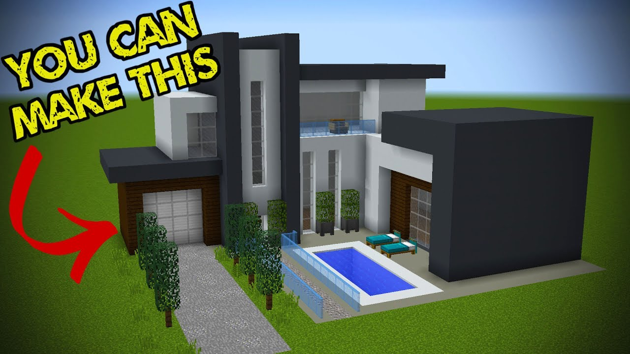 Minecraft Modern House Tutorial Step By Step Pictures ...