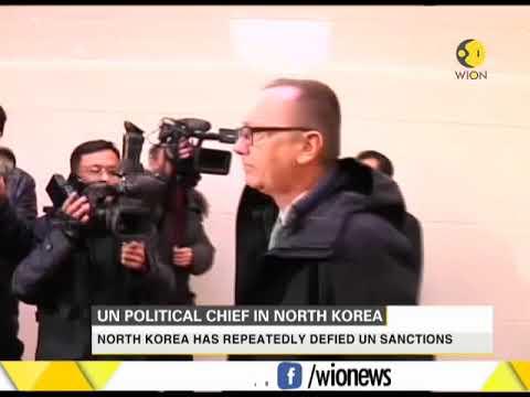 UN political chief Jeffrey Feltman visits North Korea