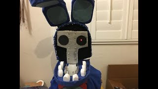 (FNaF 2)Making a Life Sized Withered Bonnie Head