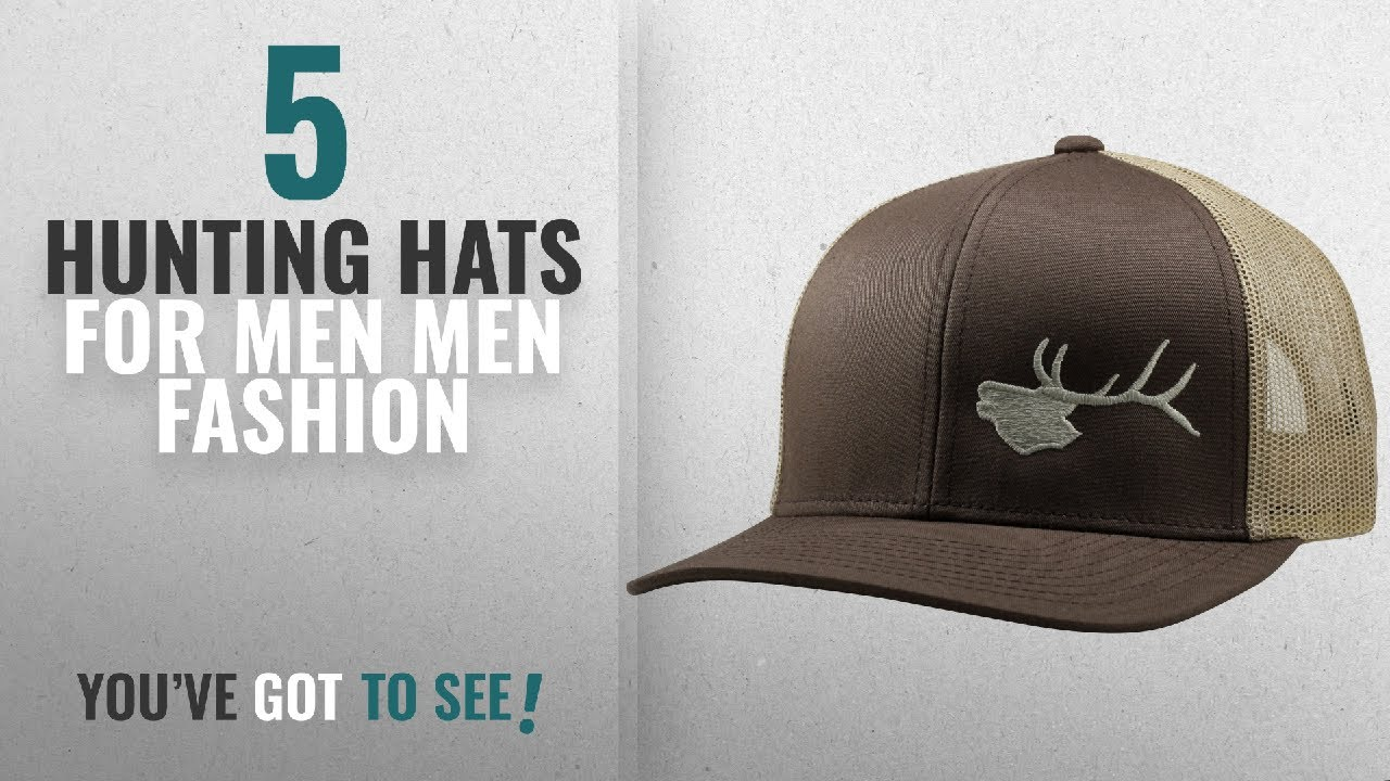 Top 10 Hunting Hats For Men  Men Fashion Winter 2018    Lindo ... 0452882bd408