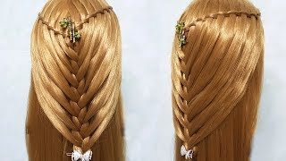 Awesome & Easy Hairstyles for Wedding or Function 🎄🌸 hairstyles for girls 🍀 hairstyle 2018
