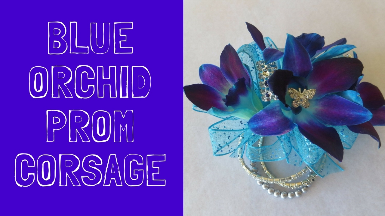 Blue Orchid Prom Corsage Ideas Corsages Flowers For Dresses In
