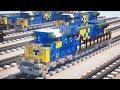 Minecraft CSX AC4400CW YN3 Train Tutorial