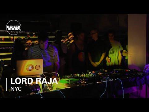 Lord Raja Boiler Room NYC DJ Set
